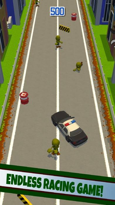 Racing Cops: Zombie vs Police Car Walkthrough (iOS)