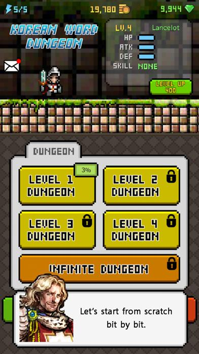 Korean Dungeon: K-Word 1000 Walkthrough (iOS)
