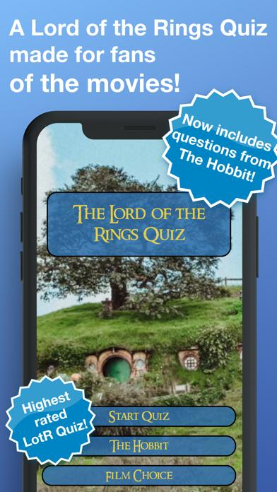 LotR Quiz Walkthrough (iOS)