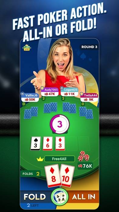 Cash Live: Poker Card Game Walkthrough (iOS)