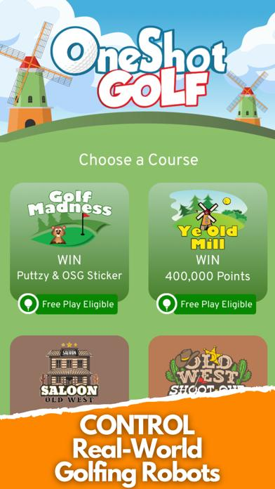 OneShot Golf: Robot Golf & Win Walkthrough (iOS)