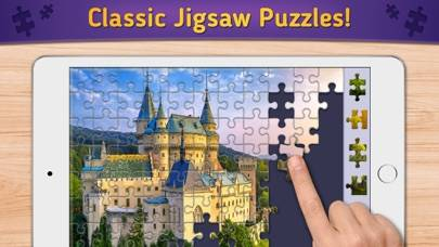 Relax Jigsaw Puzzles Walkthrough (iOS)