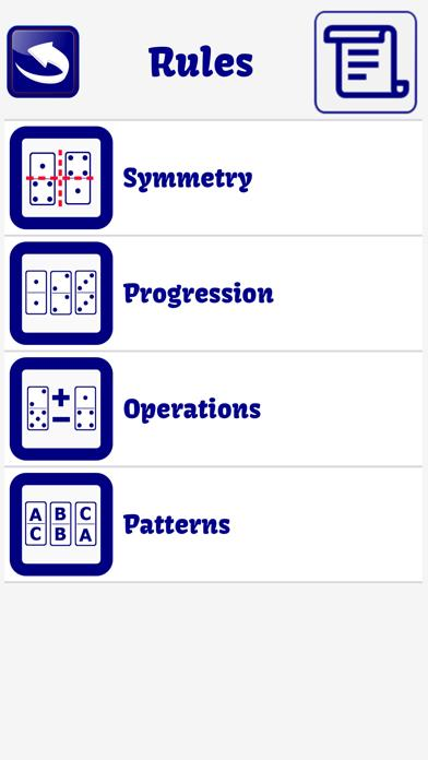 Domino psychotechnical test Walkthrough (iOS)