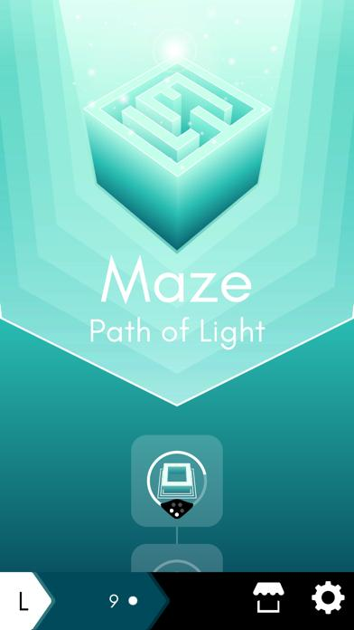 Maze: path of light Walkthrough (iOS)