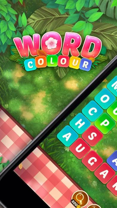 Word Colour Walkthrough (iOS)