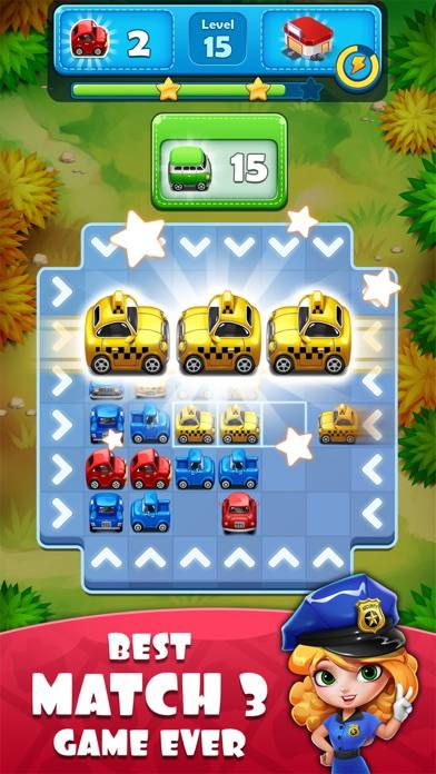 Traffic Jam Car Puzzle Legend Walkthrough (iOS)