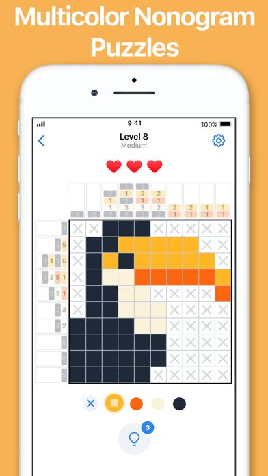 Nonogram.com Color: Logic Game Walkthrough (iOS)