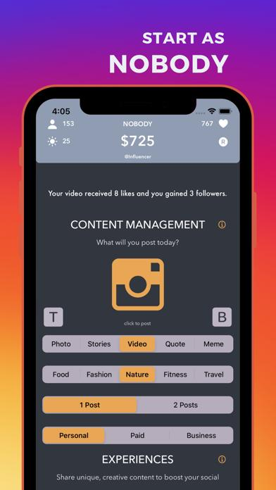 Influencer Walkthrough (iOS)