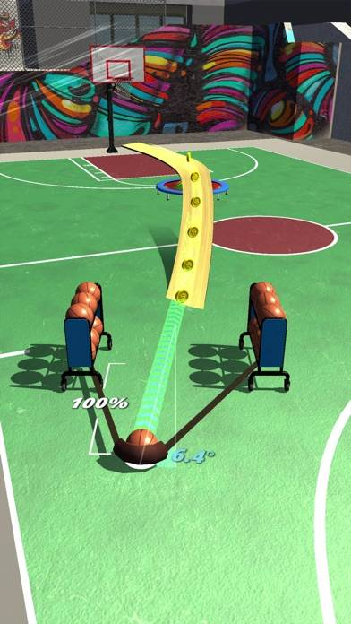 Slingshot Basketball! Walkthrough (iOS)