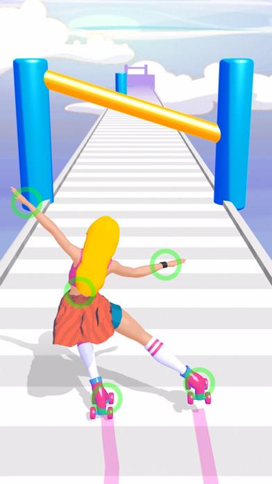 Roller Skate Girl Walkthrough (iOS)