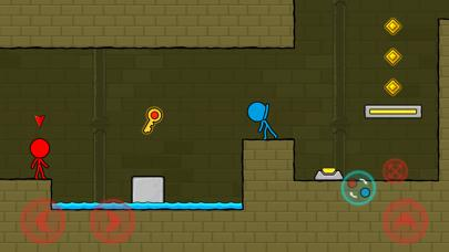 Red & Blue Stickman Walkthrough (iOS)