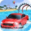 WaterSlide Car Uphill Rush Pro Review iOS