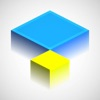 Isometric Squares puzzle ² Review iOS