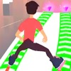 Slide Roller 3D Rolling Race Review iOS